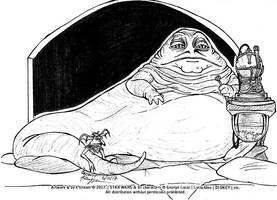 Inktober #16 - Fat by k-tiraam