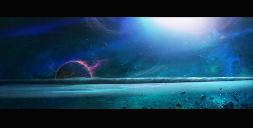 Black Hole concept by EyeSeeBlack