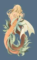 Mermaid Tattoo Concept by Kosumonauto