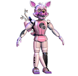 Withered Funtime Foxy by RealAftonRobotics