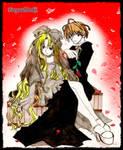 The Rose dancing-LokixFreya- by Yakai