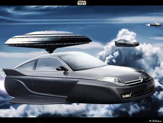 Star Wars Citroen C6 by Bobiman