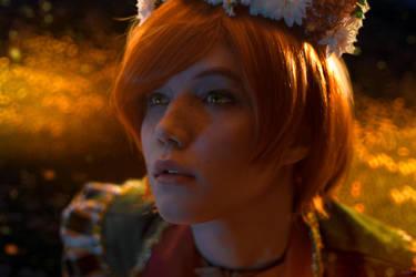Shani Witcher3 cosplay Wedding day by Lyumos