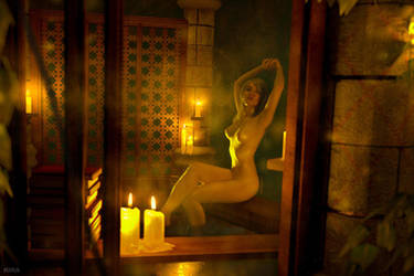 Keira Metz nude. Witcher 3. (1 frame) by Lyumos