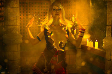 Keira Metz nude cosplay. Witcher 3. (10 frame) by Lyumos