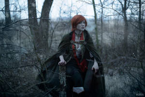 The Witcher 3 Shani cosplay (frame 5) by Lyumos