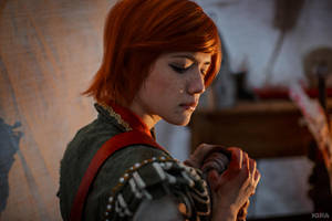 The Witcher 3 Shani cosplay (frame 21) by Lyumos