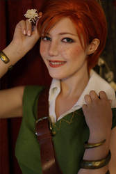Shani Witcher 1 cosplay by Lyumos