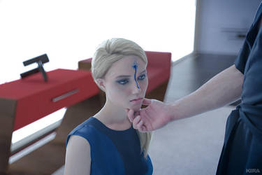 Detroit: Become Human cosplay (frame4) by Lyumos