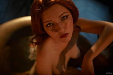 Triss Merigild Witcher (5) by Lyumos