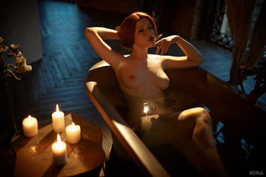 Triss Merigild Witcher (6) by Lyumos