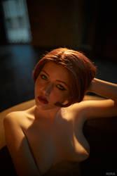Triss Merigild Witcher (7) by Lyumos