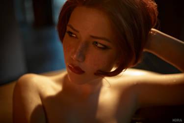 Triss Merigild Witcher (8) by Lyumos