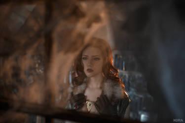 Triss Merigild Witcher (18) by Lyumos
