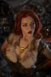 Triss Merigild Witcher (21) by Lyumos