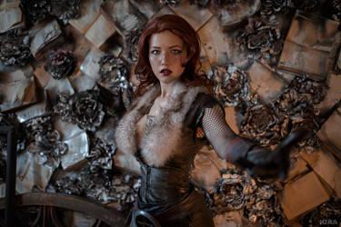 Triss Merigild Witcher (25) by Lyumos