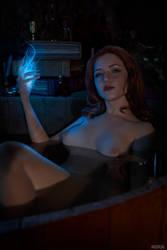 Triss Merigild Witcher by Lyumos
