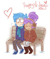 V Day by mellowforests