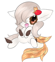 Chibbii comission by Ambercatlucky2