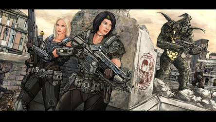 Vigilance: Sisters in Arms by TheDrowningEarth
