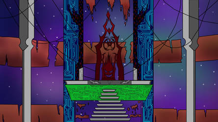 Lord Xio Castle Interior Coloured by RiAkira