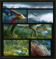Parasaurolophus by Lenika86