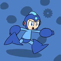 Super Smash Bros 011-Megaman by Guuguuguu