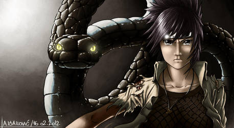 Anko Mitarashi Fan Art by SkavenZverov