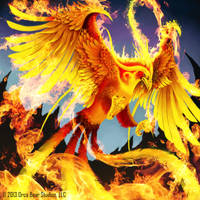 Fiery Phoenix - Keepers of Grimoire by SkavenZverov