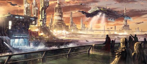 Ondan City - Project Antharra by SkavenZverov