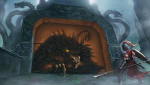 Dragon Entrance by SkavenZverov
