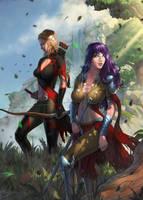 Destiny Reforged - Cover Commission by SkavenZverov