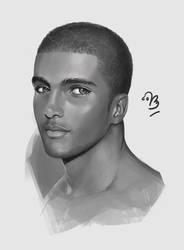 Portrait Study #1 by unbrokendoll
