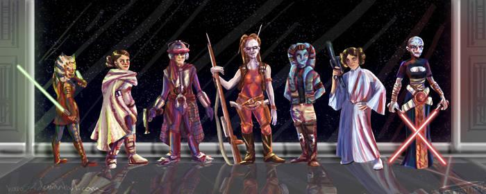 Star Wars Ladies by Hapo57