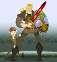 Brienne, plus one by Sir-Heartsalot