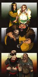 Baratheon Brofists by Sir-Heartsalot