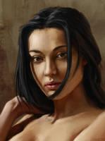 Portrait Study by Machariel
