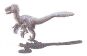 Cayro the Deinonychus by Agahnim