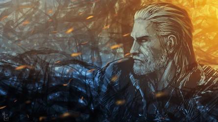 Geralt of Rivia by NicoFari