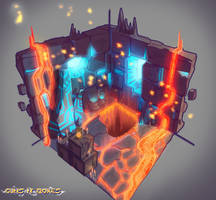 Stage Concept n1 by NicoFari