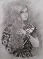 Hallstatt girl by Denis-V