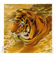 Tiger Illustration by Sylfonis