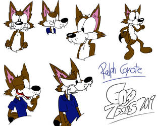 Ralph Coyote by EnzoToons