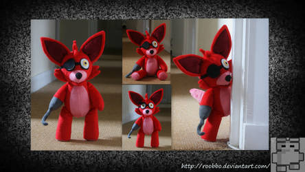 Five Nights At Freddy's - Foxy Plush by roobbo