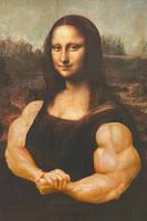 Mona Lisa the Bodybuilder by califjenni3