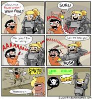 Fallout 4 Fun by electricbunnycomics
