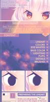 Eye Coloring Tutorial [SAI] by Lanahx3