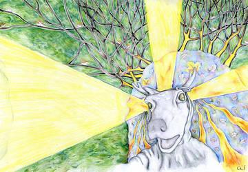 The Saint Deer by aiculedssul