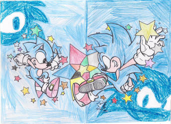 -Entry- Star-Studded Sonics by Sonadowfan21