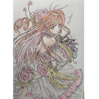 Sakura with Flowers, by Shiyawchan by NewTrials